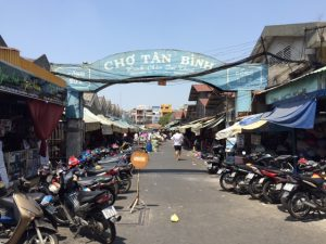 Tan Binh fabric market